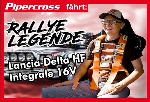 Eine Rallye Legende: Lancia Delta HF Integrale 16V